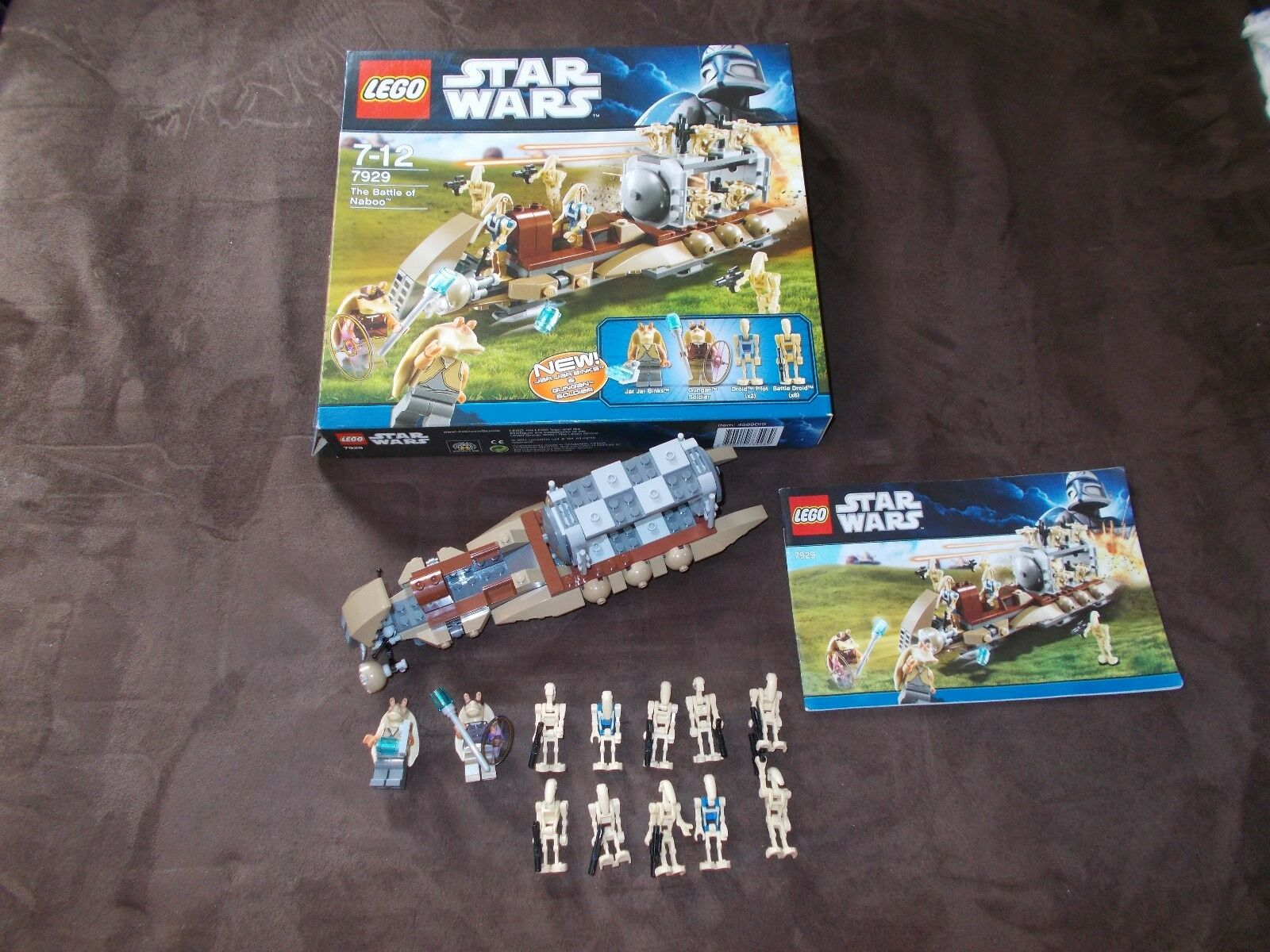 Lego® Star Wars - 7929 - The Battle of Naboo mit BA und OVP