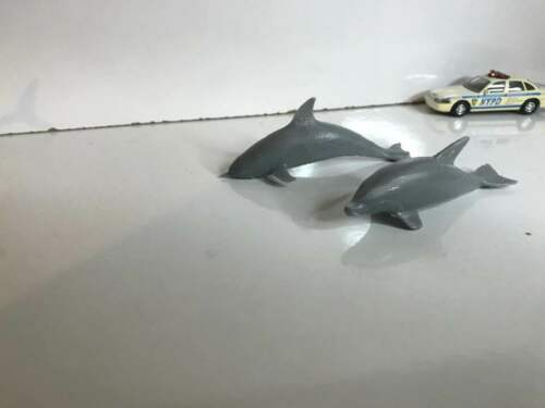Ho 1//87 Scale dolphin Set UNPAINTED
