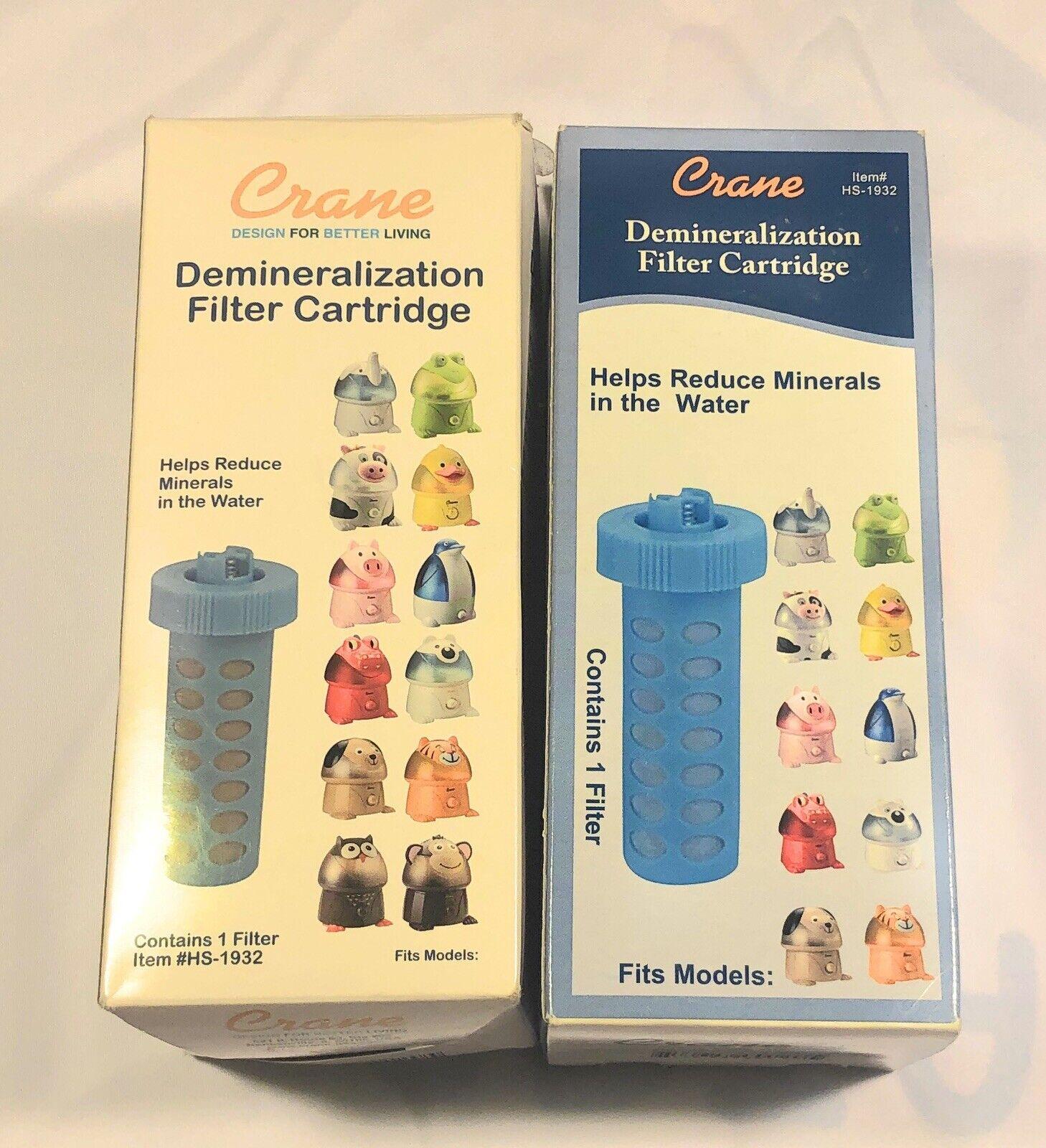 Crane HS 1932 Universal Demineralization Humidifier Filter Cartridge Lot Of 2