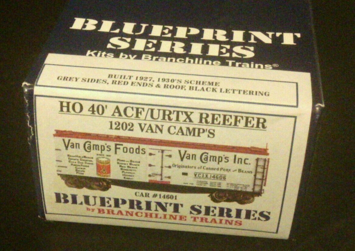 Branchline blåfrint Series HO skala Van Camps Foods 1202 40