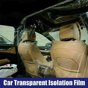 Transparent-Isolation-Film-Protect-Cover-Full-Surround-Insulation-For-Taxi-Car