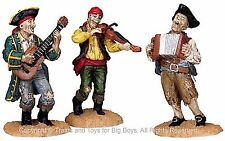 Lemax 82499 PIRATE SHANTY TUNE Set of 3 Spooky Town Figure Halloween O Retired I