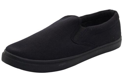 Curseur Plates Toile Décontracté Chaussures Hommes Confortable Enfiler À Pont 86qvn