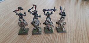 Warhammer-Vampire-Counts-Citadel-039-90s-OOP-metal-painted-mummies