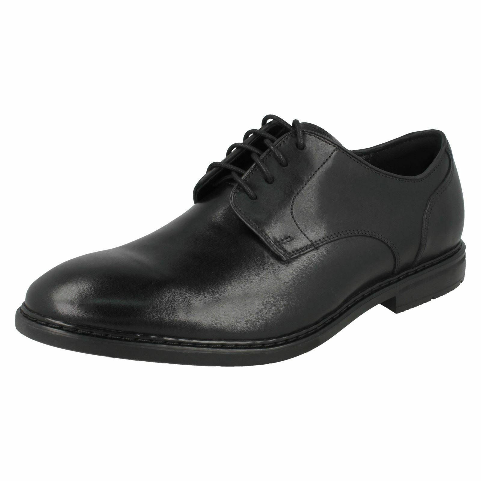 Mens Clarks Banbury Lace Smart Leather Lace Up Shoes G Fitting