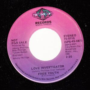 Hear-Soul-Funk-Promo-45-Free-Youth-Love-Investigator-Same-On-Tmi-Promo