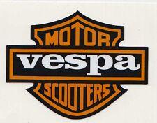 VESPA MOTORSCOOTERS PVC AUFKLEBER (MBRPVC014)