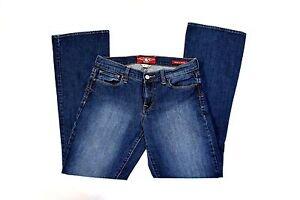 Women-039-s-Lucky-Brand-Blue-Jeans-Sofia-Boot-Cut-8-29-Dark-Wash-Inseam-30-034