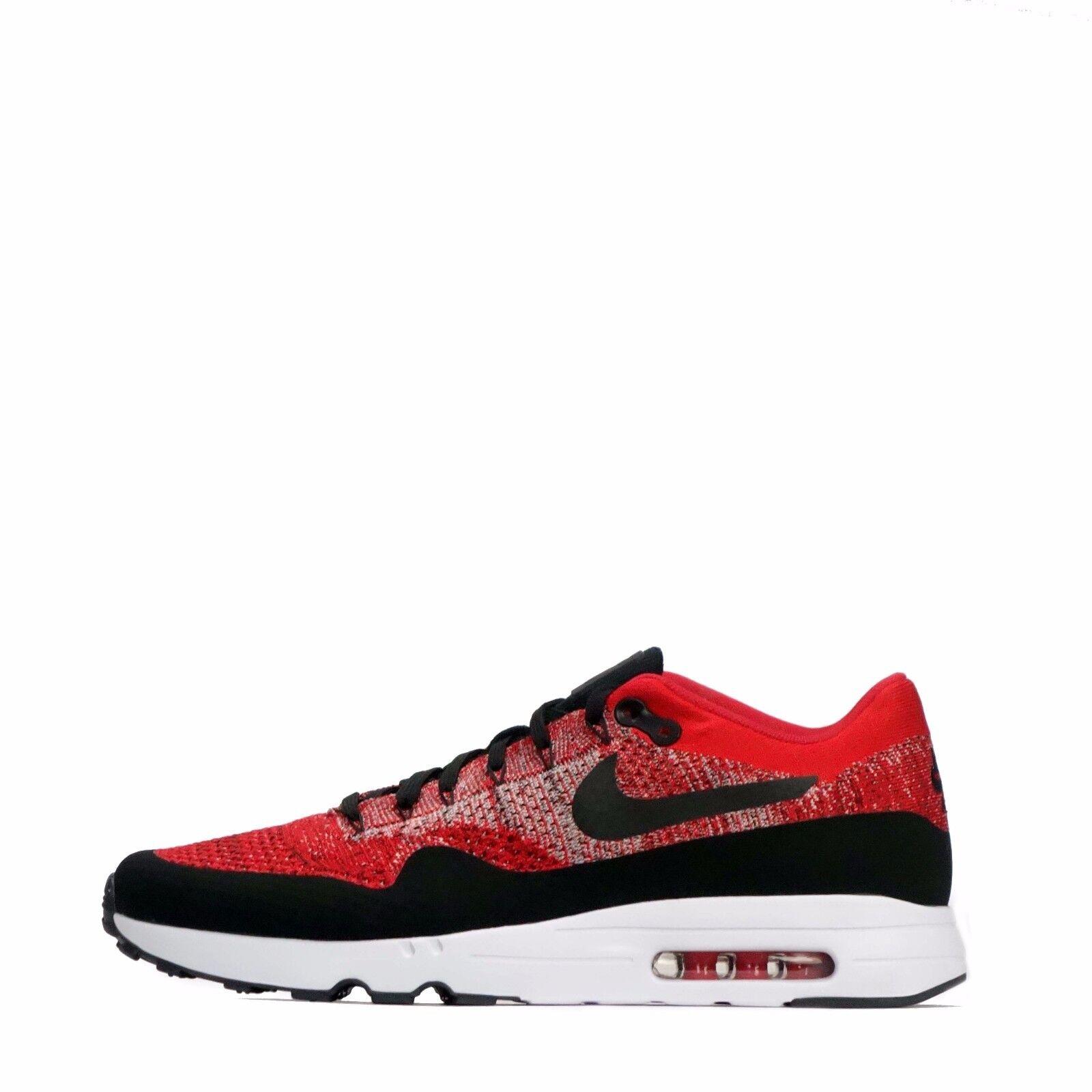Max 1 Ultra Nike 2.0 Nike Ultra Air Flyknit Para hombres Zapatos Universidad Rojo/Negro 83759f