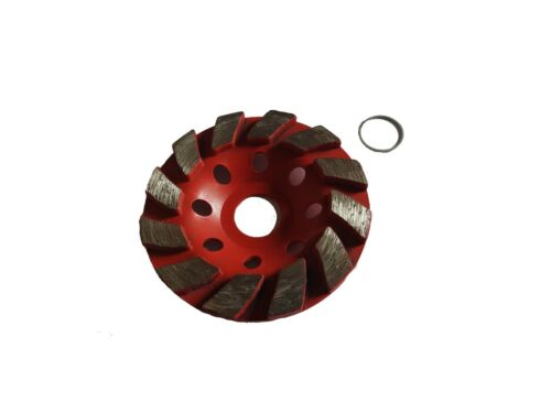 "100mm 4/""Diamond Grinding Cup Wheel Disc for Concrete Granite 30 grits"
