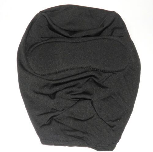 Nylon masque BDSM Play Fetish Cosplay Opaque Bondage NEUF noir