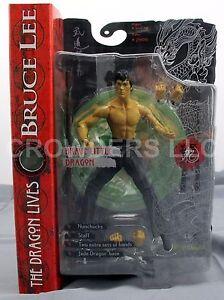 Bruce Lee Dragon Lives Brave Petite Bouche Fermée Variante Arty Asylum Nip 687203755038