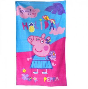 Peppa-Pig-Holiday-Handtuch-Strandtuch-70-x-120