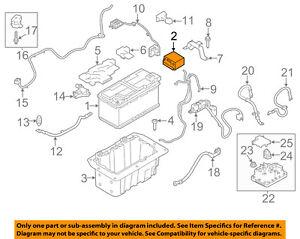 Details about LAND ROVER OEM 13-16 Range Rover 5 0L-V8-Battery LR047630