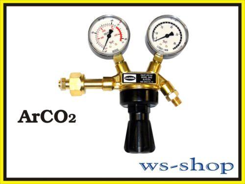 co2 craqué//débosselage Harris réducteur de pression régulateur de pression 200 bar pour Argon