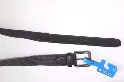 Columbia Belt NEW NWT Men/'s Size XL 42-44 Gray Black