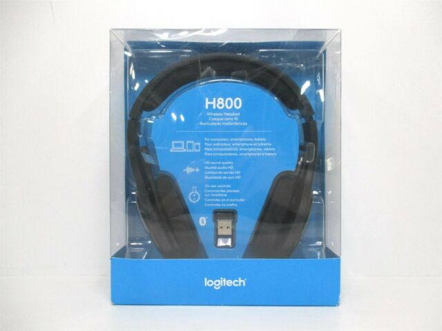 Logitech H800 Wireless Bluetooth Headset With Pc Usb Dongle For Sale Online Ebay