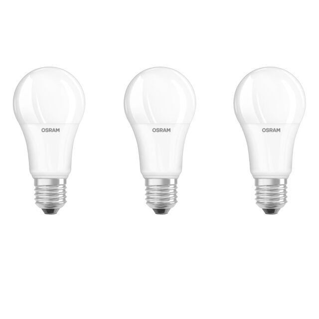 OSRAM LED BASE CLASSIC A100 E27 14W=100W 1521lm 200°warm weiß 2700K nodim A+ 3er