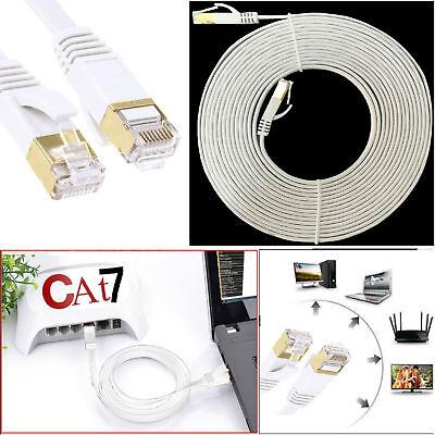 Fashion Style 1 M - 20 M Metro Piatto Cavo Cat7 Rj45 Rete Ethernet Patch Super Cord Gigabit Lotto-