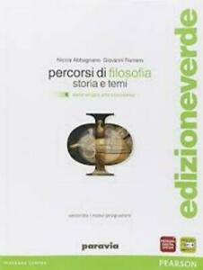 percorsi-di-filosofia-vol-1-Abbagnano-Fornero-PARAVIA-pearson-cod-9788839526397