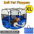 XL Pet Soft Playpen Puppy Dog Cat Crate Cage Play Pen Enclosure Tent Portable AU