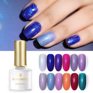 BORN-PRETTY-6ml-Nagel-Gellack-Holographisch-Nail-UV-Gel-Polish-Soak-Off-Nail-Art
