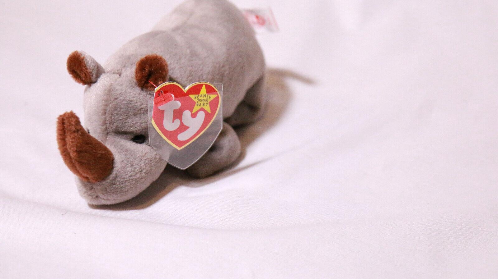servicio honesto Spike el rinoceronte rinoceronte rinoceronte Raro errores-Beanie Baby  online al mejor precio