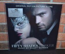 FIFTY SHADES DARKER - Original Score Danny Elfman, Ltd 180G COLORED VINYL LP #'d