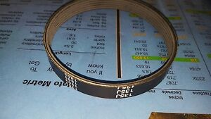 3 NEW DRIVE BELTS MADE IN USA FOR DELTA 22-546 PLANER