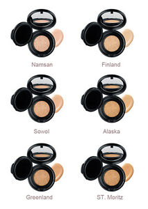 Details About Nars Aqua Glow Cushion Foundation Compact 13 G Full Size 6 Shades