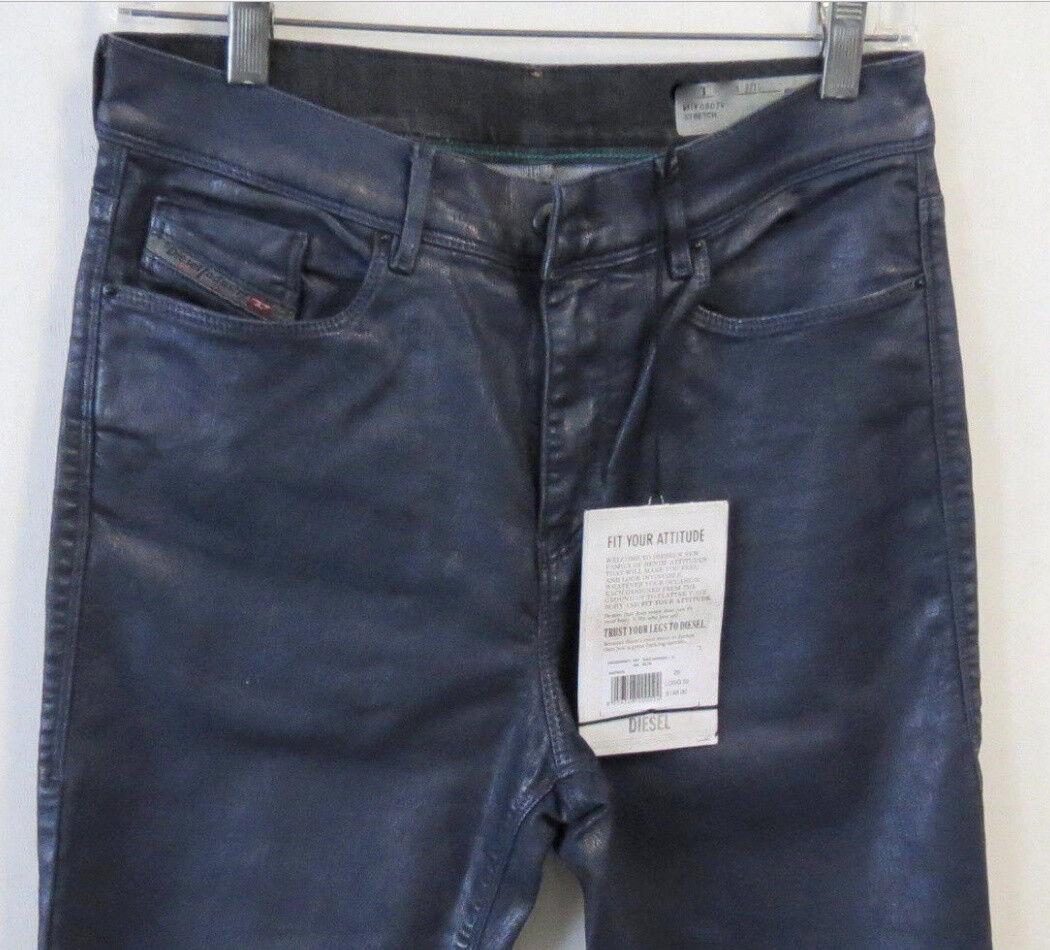 Diesel Women Jeans Highkee Slim-Skinny High Waist 807V 29  W x 32 New w  Tags