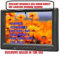 Sunlight Readable 7 Lilliput 669gl-70np/c Field Monitor +battery+mini Hdmi+moun