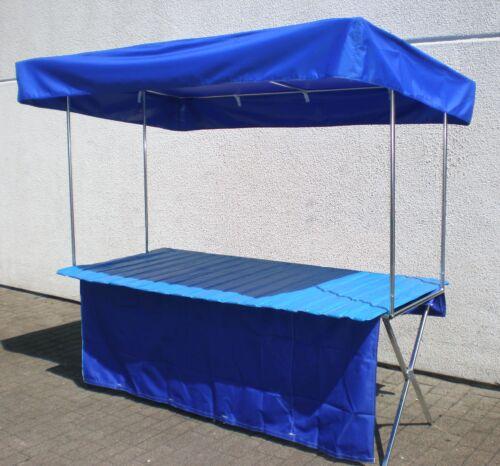 NEU 2 x 1 m Verkaufsstand mit Dach Markttisch Verkaufstisch mit Überdachung