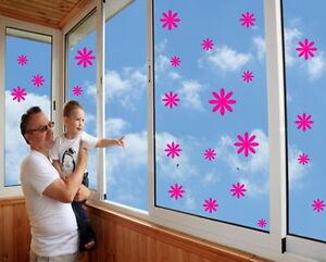 20-Blumen-Flowers-Aufkleber-Fensteraufkleber-Wandtattoo-Moebelsticker-Sticker