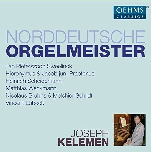 N. Bruhns / Joseph K - North German Organ Masters [New CD] Boxed Set