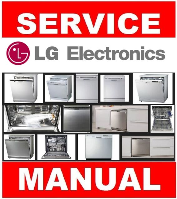 lg dishwasher service manual and repair guide choose from worldwide rh ebay com LG Dishwasher LDS5811ST Parts LG Dishwasher Model LDS4821ST Recall