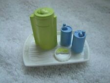 Rare FISHER PRICE Loving Family Dollhouse LEMONADE REFRESHMENT TRAY for OUTDOOR