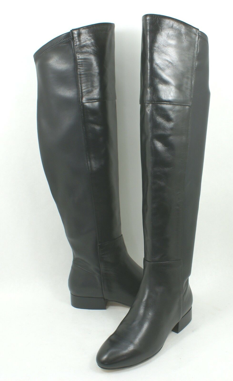 Joie 'Daymar' Over the Knee Boot Black Leather Size 6 OTK