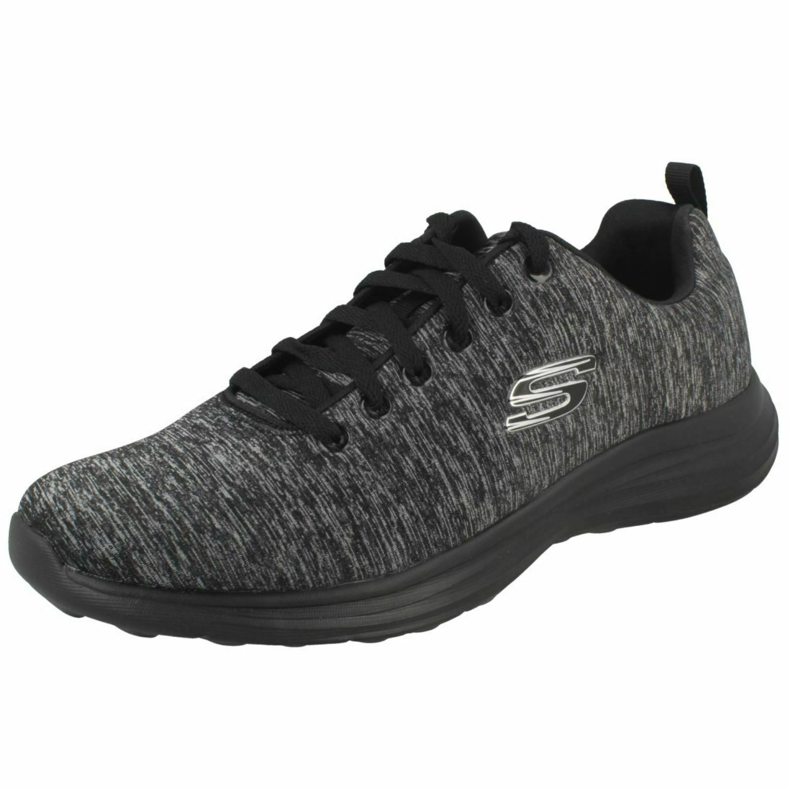 Mens Skechers Casual Trainers Low Key Power Trippi 999779