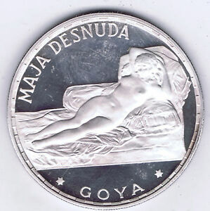 1970-EQUATORIAL-GUINEA-999-SILVER-PROOF-100-P-GOYA-NAKED-MAJA-KM-13-5-PACKAGED