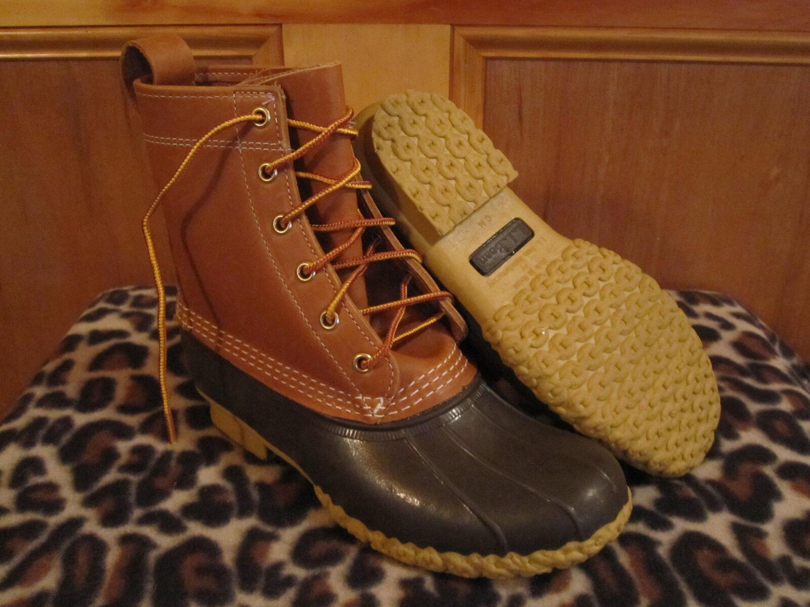 Womens LL BEAN Boots 8