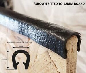 Details about 12mm Plywood / Van Lining PVC Edging Trim