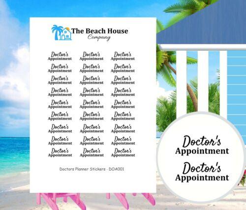 feliz Planner 27 Pegatinas de citas planificador médico para Erin Condren Kawaii