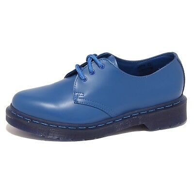 8125o Scarpa Allacciata Dr.martens Smooth Bluette Scarpa Donna Shoe Woman Stile (In) Alla Moda;