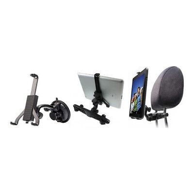 Energico Da Auto Tablet Supporto 360 ° Grado Ventosa Poggiatesta Per Ipad 2 3 4 Air Mini-
