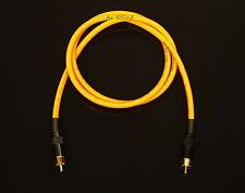 Van Damme Orange Ultra Subwoofer Cable 2 Metre Length