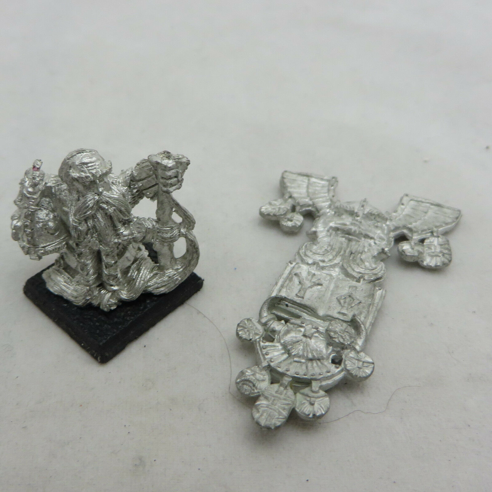 Warhammer Dwarf limited edtition army standard AOS Dispossessed kings war metal