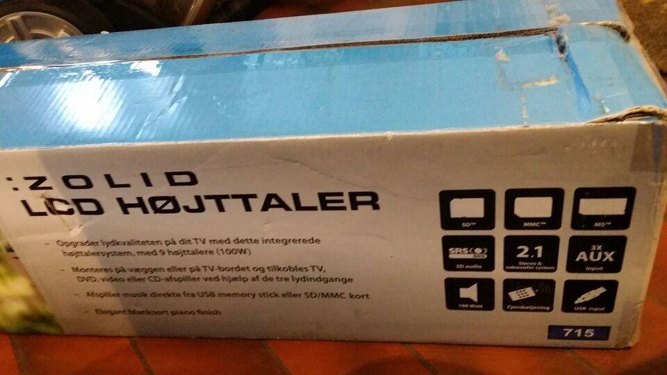 Højttaler, Andet mærke, Zolid LCD