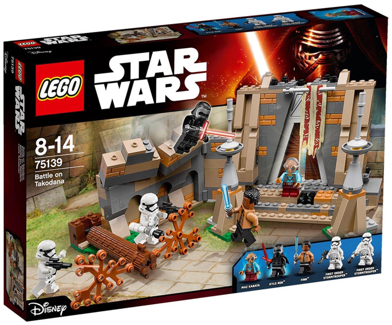 75139  LEGO estrella guerras  Battaglia Castello Maz  molte concessioni