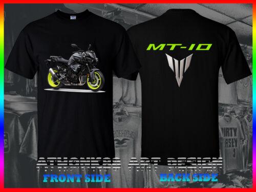 Yamaha MT-10 Moto T-shirt le roi de menthe R1 Powered